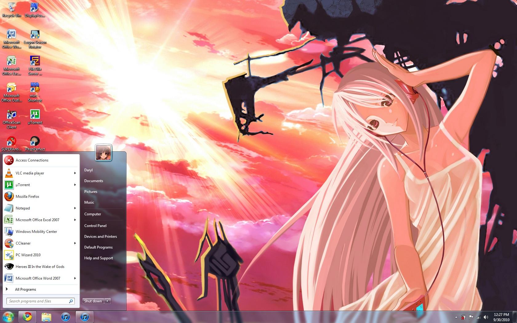 Windows 7 Themes Clannad Muramasa The Demon Blade En Route